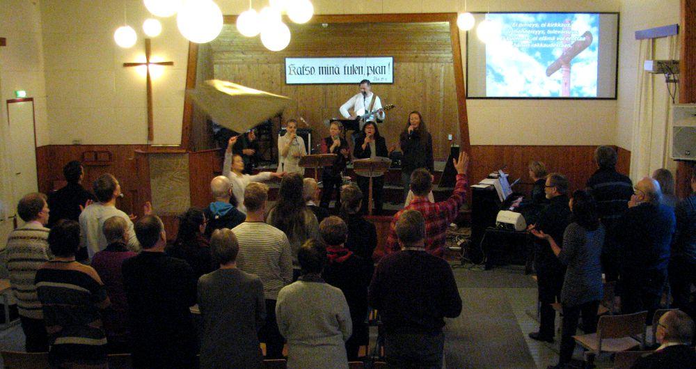 Vierailu Vaajakosken Baptistiseurakuntaan