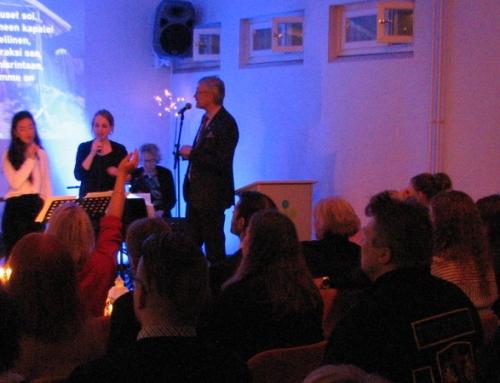 Joulujuhla ja pastori Jukan 60-vuotissynttärit